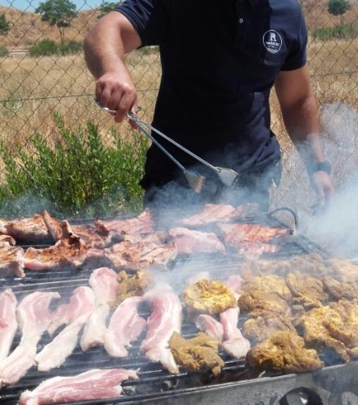 Menús catering de barbacoa